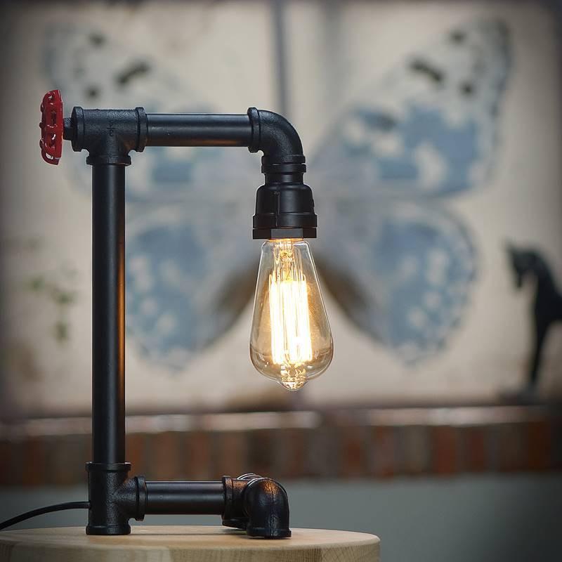 Lampka nocna w starym stylu