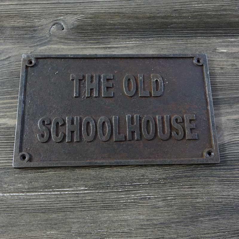 Emblemat THE OLD SCHOOL HOUSE (dom w starym stylu)