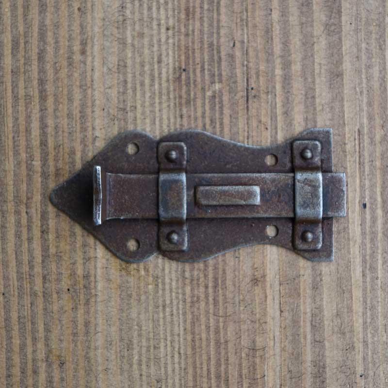 Zasuwka meblowa RUSTYK 80 x 40 mm