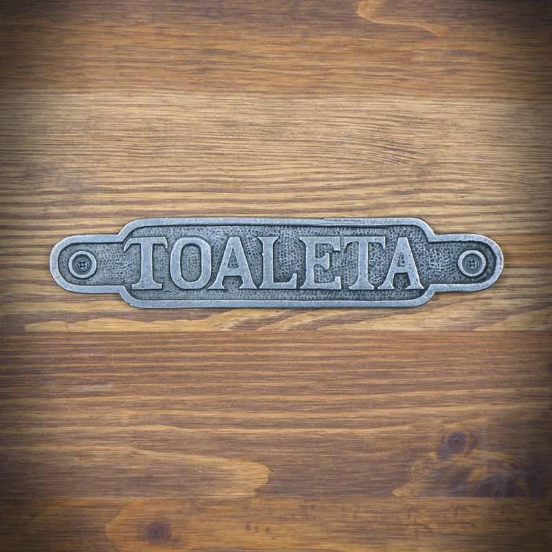 Emblemat TOALETA 2 -OSTATNIE SZTUKI