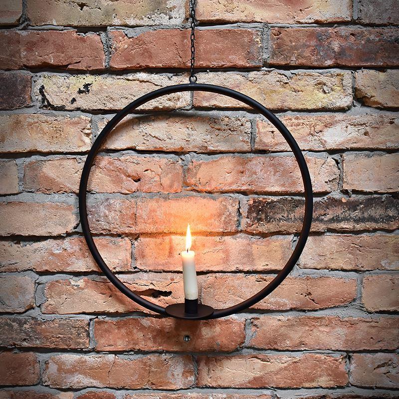 Świecznik wiszący okrągły ALEX
