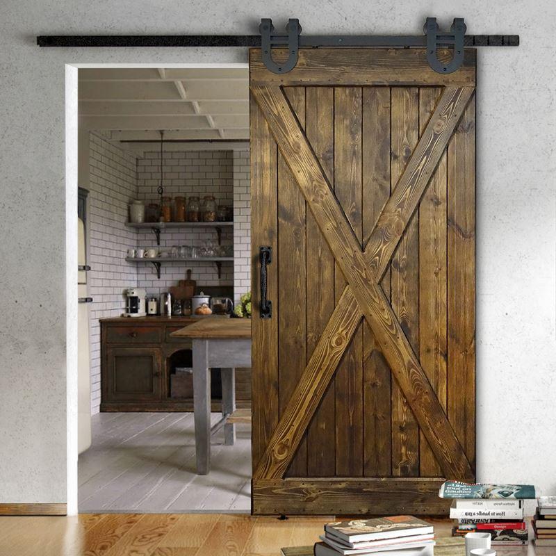 Drzwi drewniane do systemów przesuwnych - X