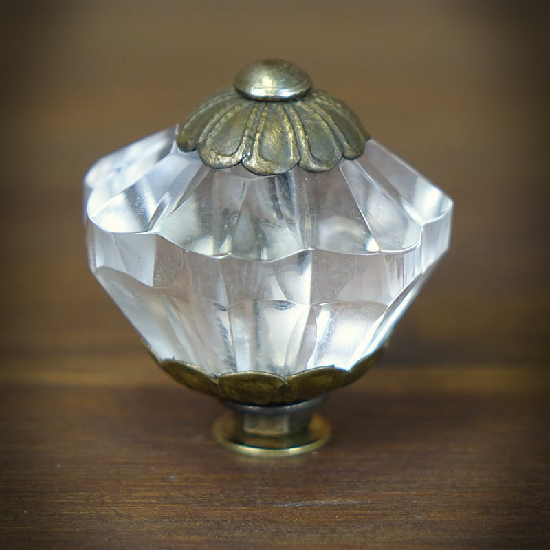 gałka szklana meblowa