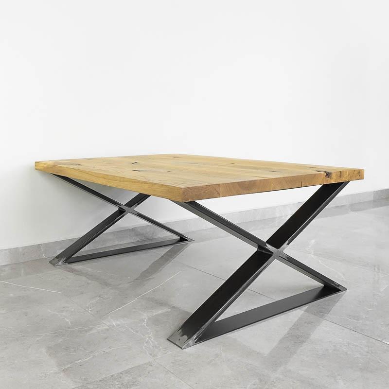 Nogi do stolika metalowe typu X