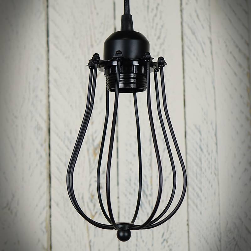 Lampa sufitowa z drutu EVAN