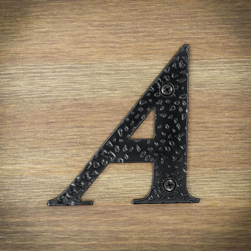 litery do numeracji domów