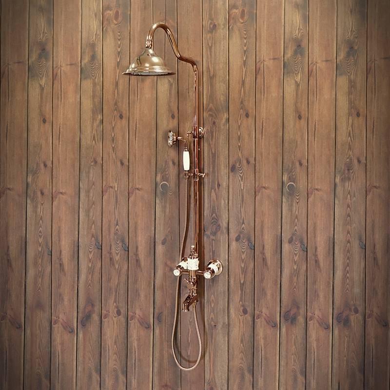 starodawny prysznic