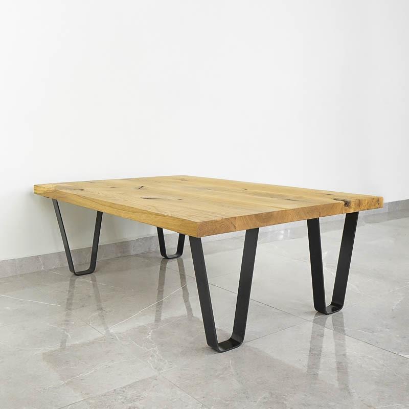 nogi stalowe niskie do ławy