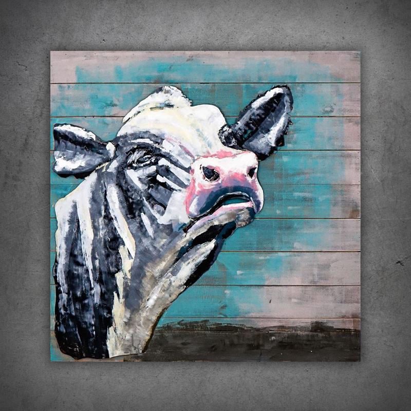 Obraz 3D krowa