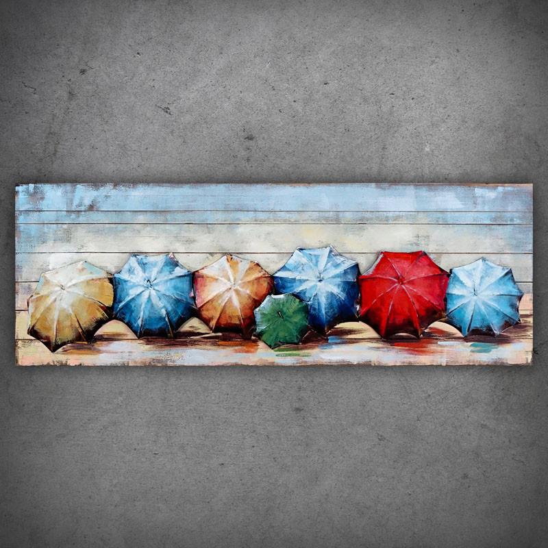 obraz 3D parasolki