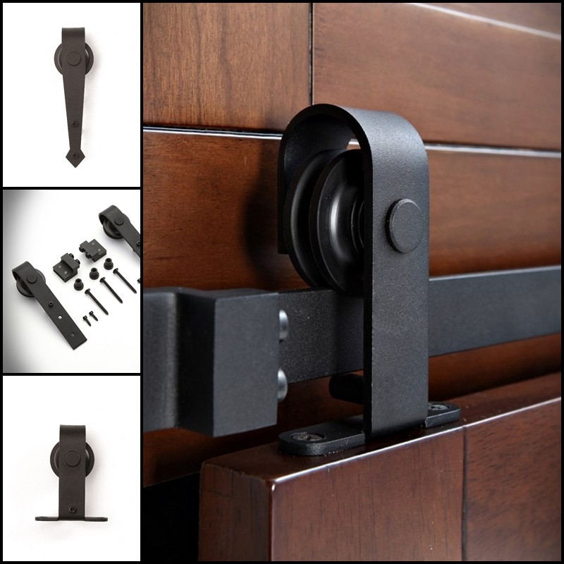Prowadnice loftowe drzwi przesuwnych do mebli MINI-DOOR