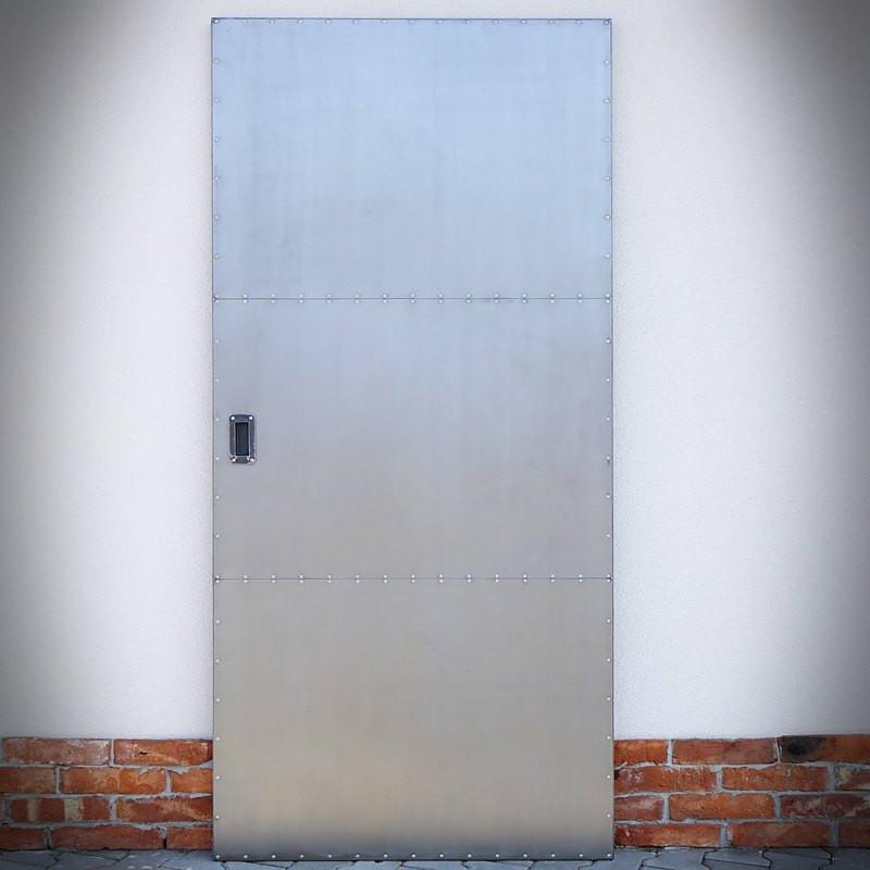 Drzwi przesuwne stalowe INDUSTRIAL DUO dwustronne