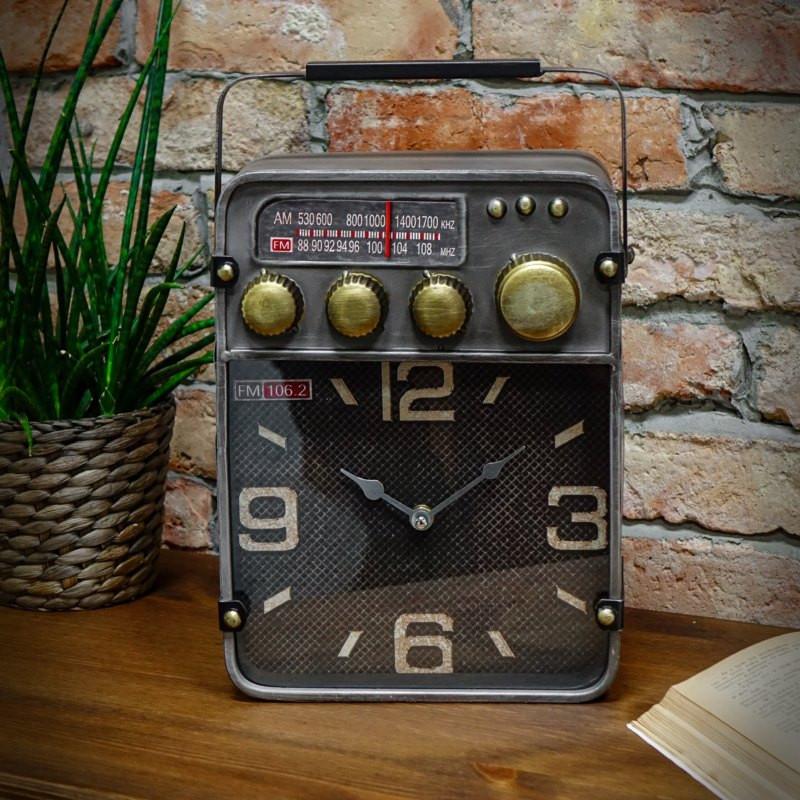 Zegar jak radio