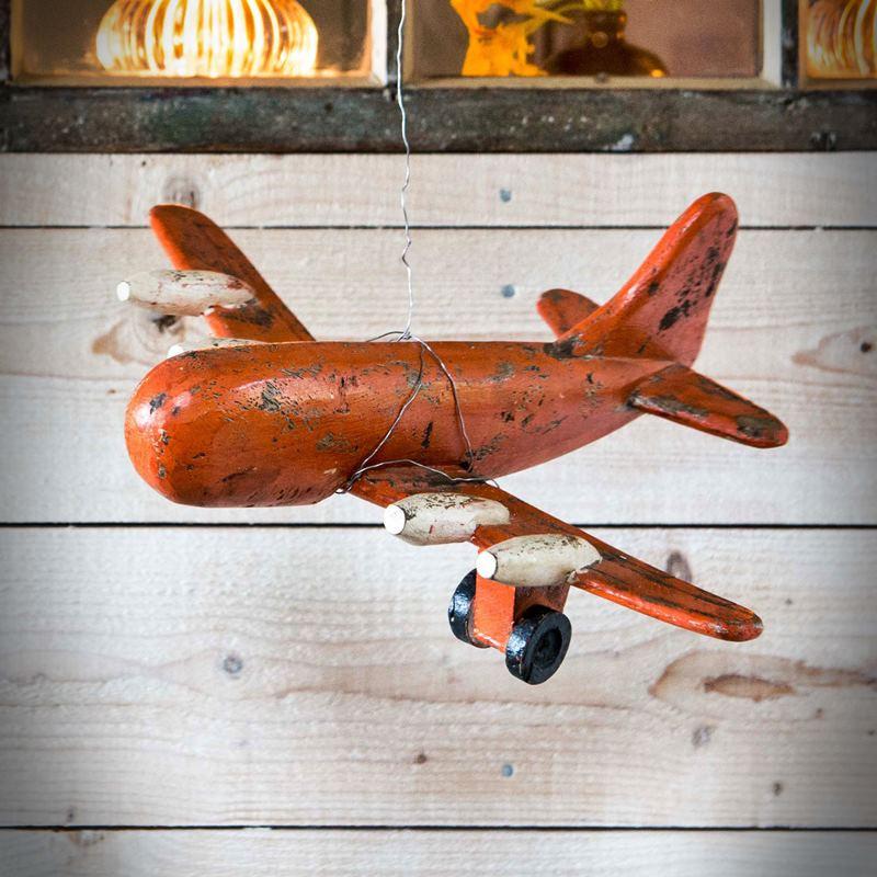Drewniany samolot TROJA