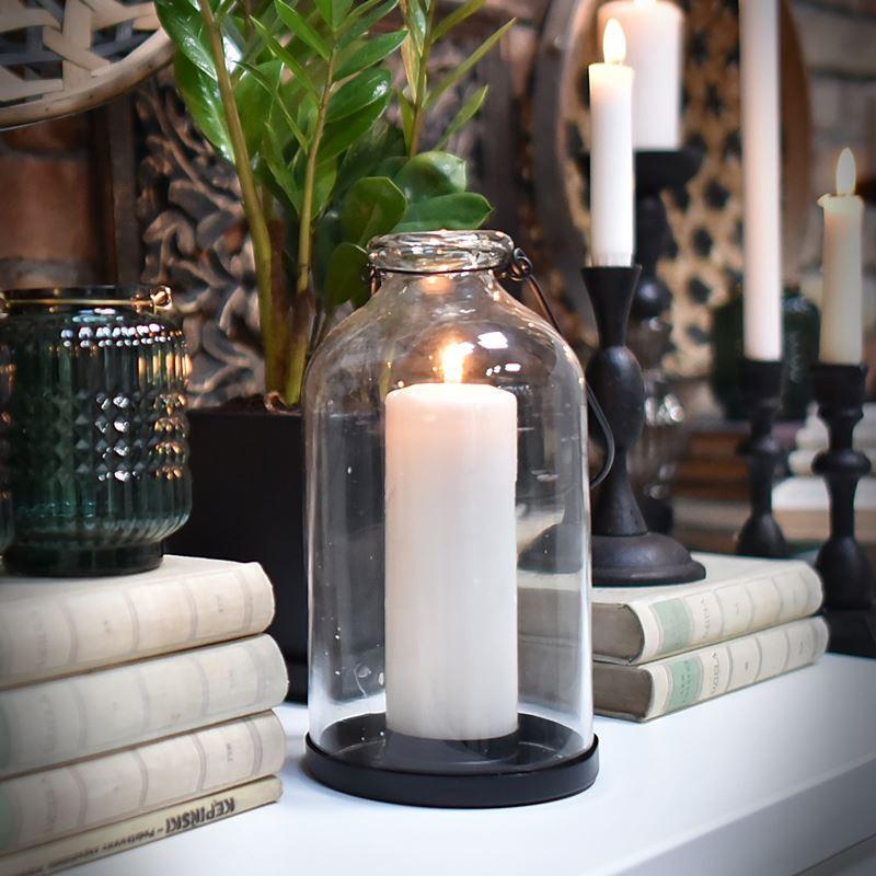 Świecznik szklany BUTLA