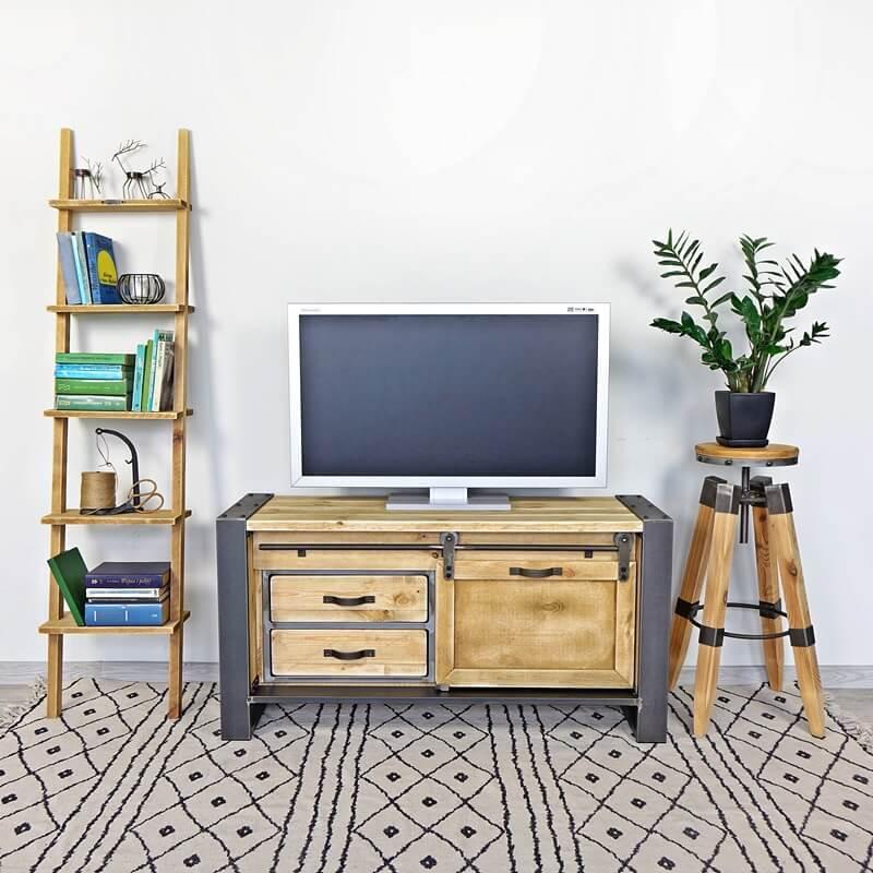 szafka pod telewizor loftowa