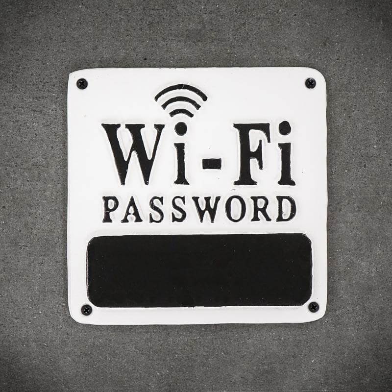 tabliczka kredowa WIFI