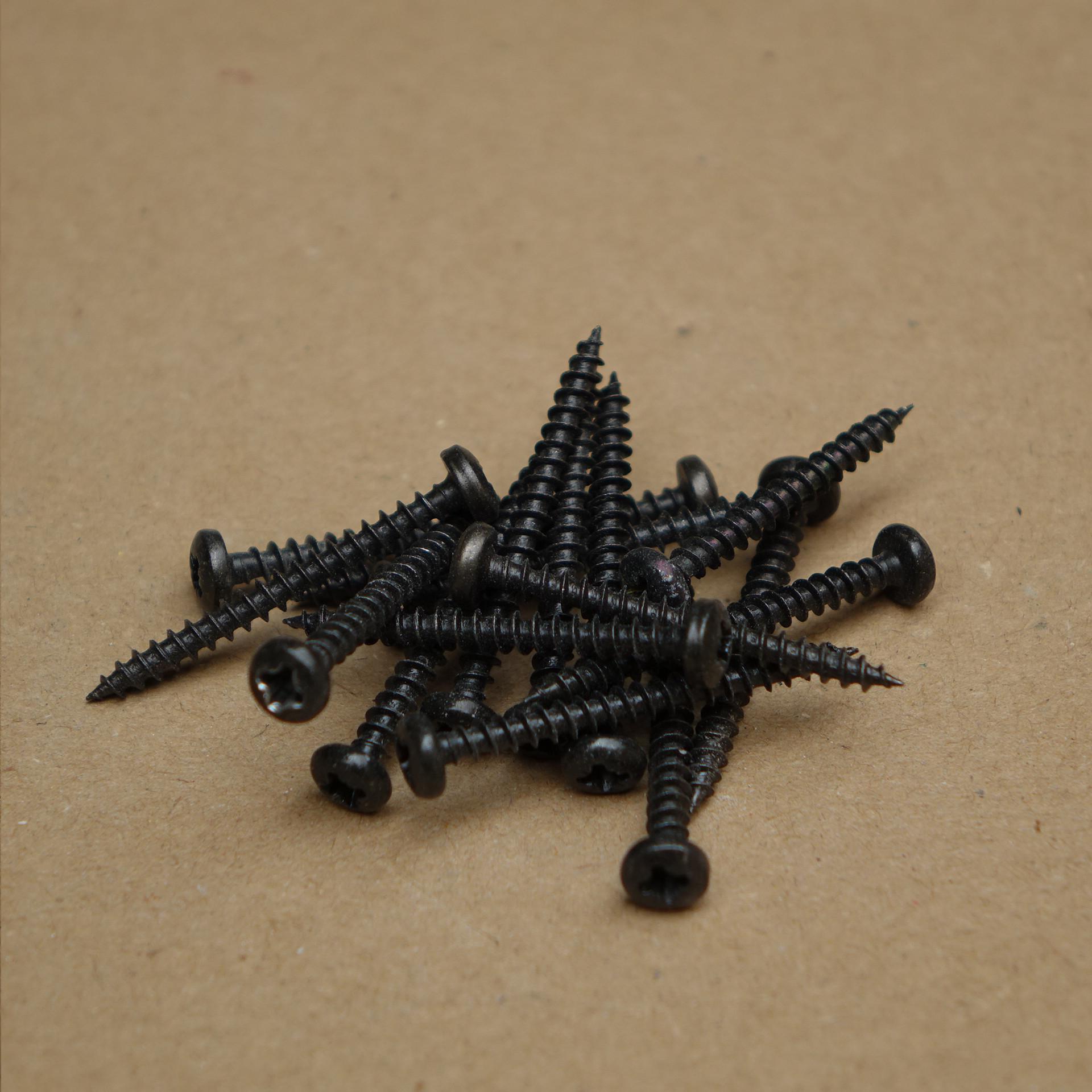Wkrety 3,5x30 czarny (10szt.)