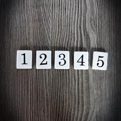 Wkład numeryczny CERAMIKA 1-5 ZESTAW