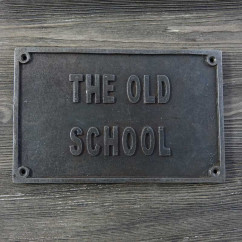 EMBLEMAT THE OLD SCHOOL (STARY STYL)