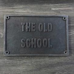 EMBLEMAT THE OLD SCHOOL (STARY STYL) - OSTATNIE SZTUKI