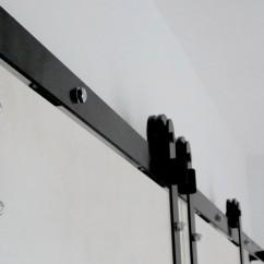Szyna o długości 200 cm do przedłużenia toru jezdnego systemu drzwi przesuwnych