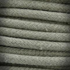 Przewód, kabel elektryczny w oplocie bawełnianym 3x0,75