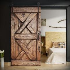 Drzwi przesuwne drewniane dębowe OLD