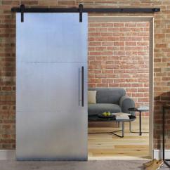 Drzwi przesuwne metalowe INDUSTRIAL