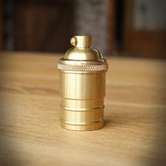 Oprawka żarówki E27 EDISON 1 złota