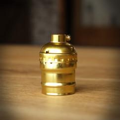 Oprawka żarówki OLD - Złota