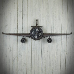 zegar samolot