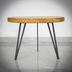 Nogi stalowe slim do stołu