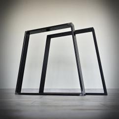 Noga stalowa do stołu TRAPEZ (80x71cm)
