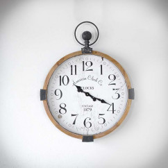 duży loftowy zegar