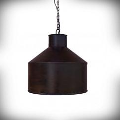 Lampa sufitowa E27 DEKOR OLDA-2 rdzawa