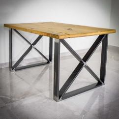 Nogi do stołu metalowe KWADROX