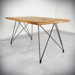 Noga czarna do stołu