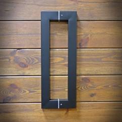 stalowy uchwyt drzwiowy
