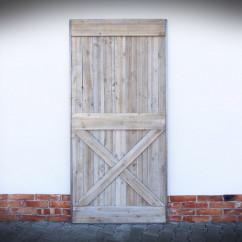 Drzwi przesuwne w ramie stalowej VILLAGE