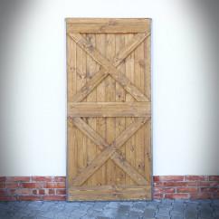 starodawne drzwi przesuwne
