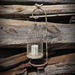 świecznik klatka
