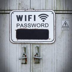 tabliczka na hasło wifi