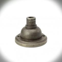 Uchwyt sufitowy do lampy 01 RURKOWY stare srebro