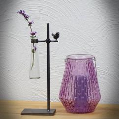 Dekoracyjny wazon z fiolką OLIVIA