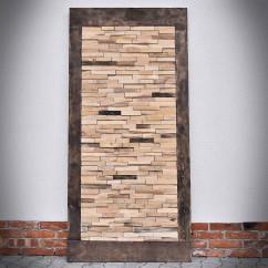 Drzwi przesuwne drewniane dębowe WOODLAND