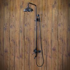 zestaw prysznicowy natynkowy
