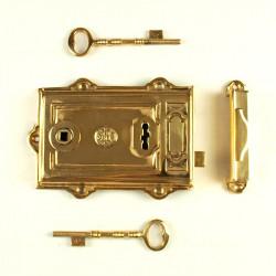 Zamek do drzwi MOSIĘŻNY 180mm uniwersalny