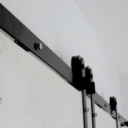 Szyna drzwi przesuwnych 200 cm