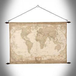 Ścienna mapa świata Globtroter